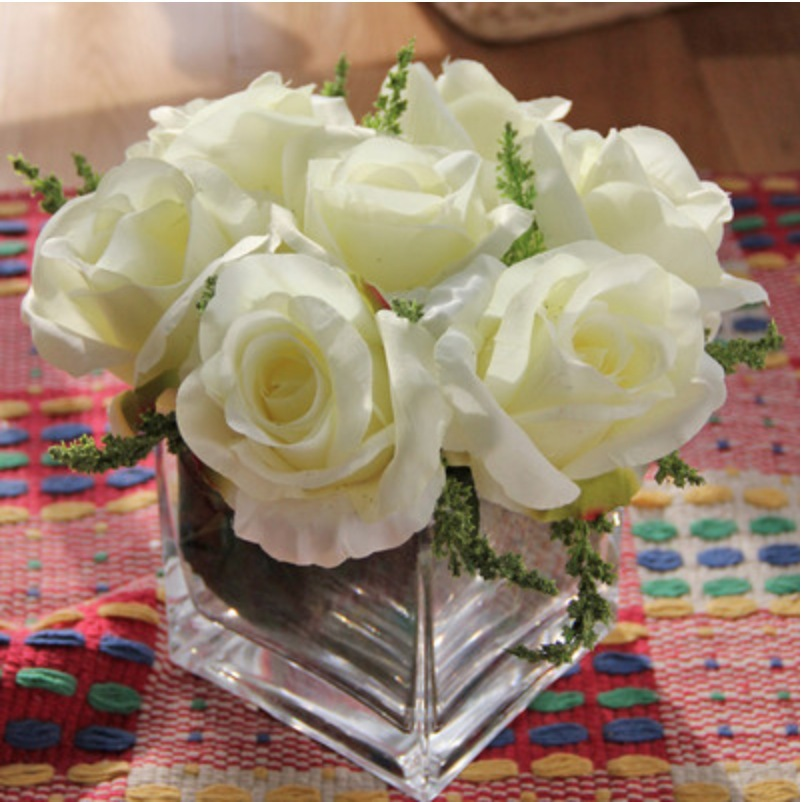 Buy Fashion High Quality Artificial Rose Flowers Home Decora