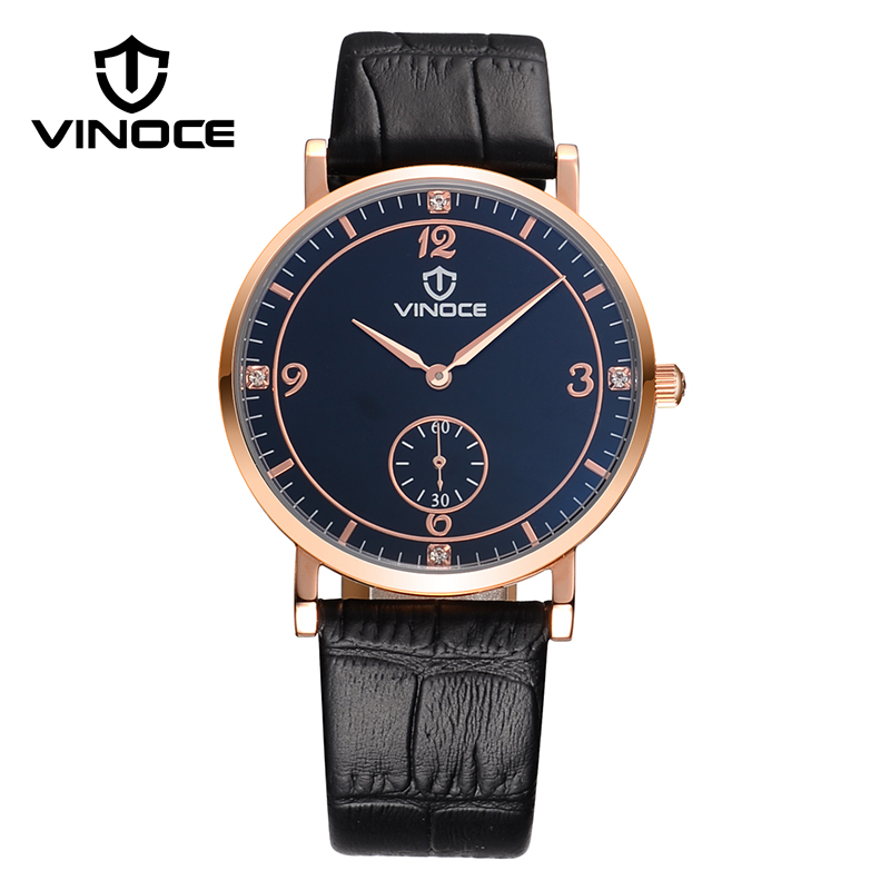 VINOCE Top Brand Luxury Watch Men Relojes Hombre 2016 Business Quartz Watches For Men Wristwatches Male Relogio Masculino V6275G(China (Mainland))