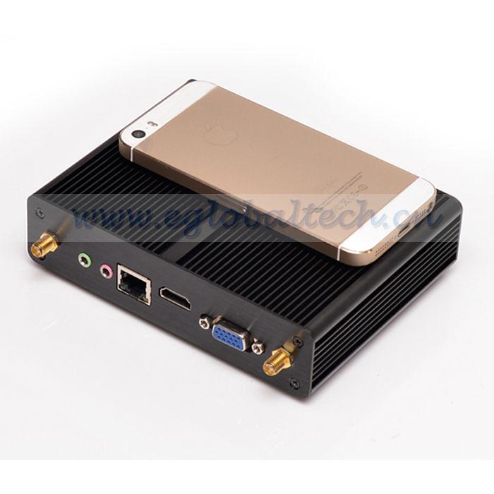 Eglobal Fanless Baytrail Android Mini PC Windows 4G RAM 32G SSD NUC Celeron N2810 N2820 HDMI VGA RJ45 Virtualization Thin Client(China (Mainland))