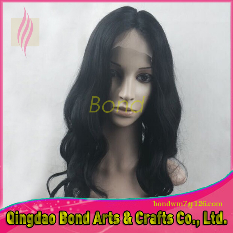 Glueless full lace human hair wigs black women malaysian straight lace front human hair lace front wigs natural color wig<br>