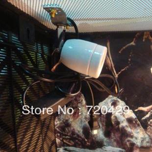 Hot Selling Reptile tank lamp base lamp holder, glass tank lamp holder, lamp base light clip(E27) 360 Degrees