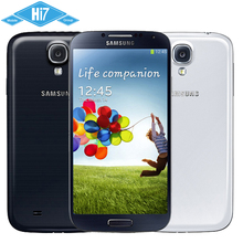 Original Samsung Galaxy S4 i9500 Quad Core 5.0» 1080P 2GB RAM 16GB ROM 13MP Camera WIFI 3G WCDMA Unlocked Android Mobile Phone