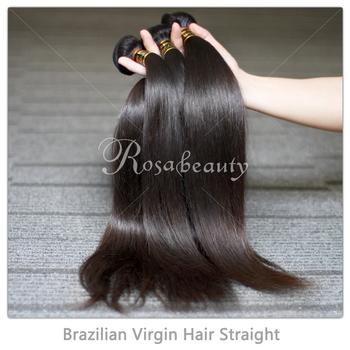 Wholesale Brazilian Virgin Hair Straight 5Pcs/Lot 100% Unprocessed Brazilian Hair Weaves Bundles Free Shipping