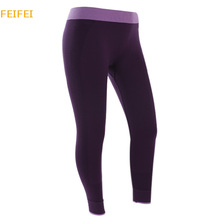 2015 Limited Mid Knitted Jeggings Leggins Sport Women New Women's Elastic Sports Exercise Fitness Gym Slim Pants Leggings