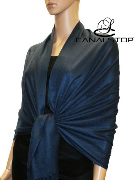 Navy Blue Female Mercerized Cotton Pashmina Shawl Top Sale Muffler Solid Color Tippet Wrap 17 Colors Available 190 x 70cm PM012(China (Mainland))