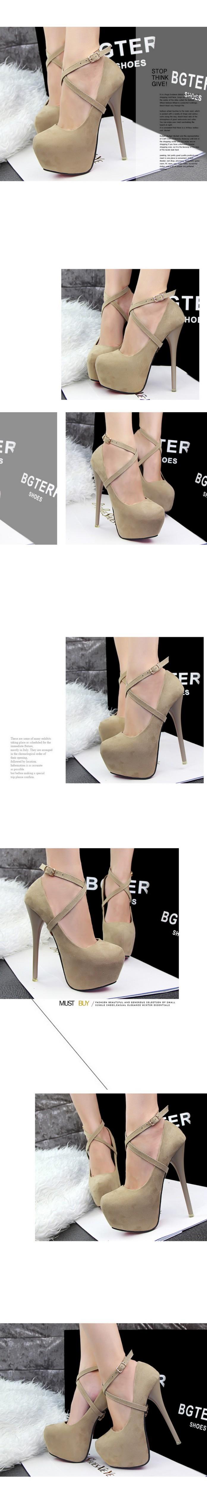 Туфли на высоком каблуке 2015 16 CHY0403115