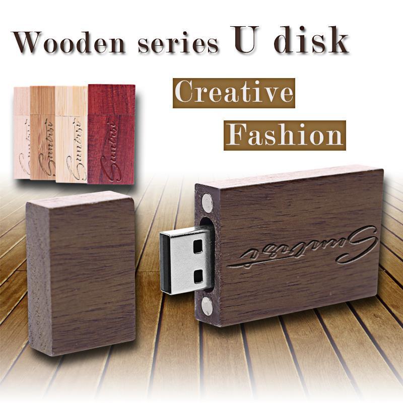 USB Flash Drive Wooden Pen Drive Logo Print Pendrive 32GB 16GB 8GB 4GB USB Stick Free Shiping Memoria USB High Speed<br><br>Aliexpress
