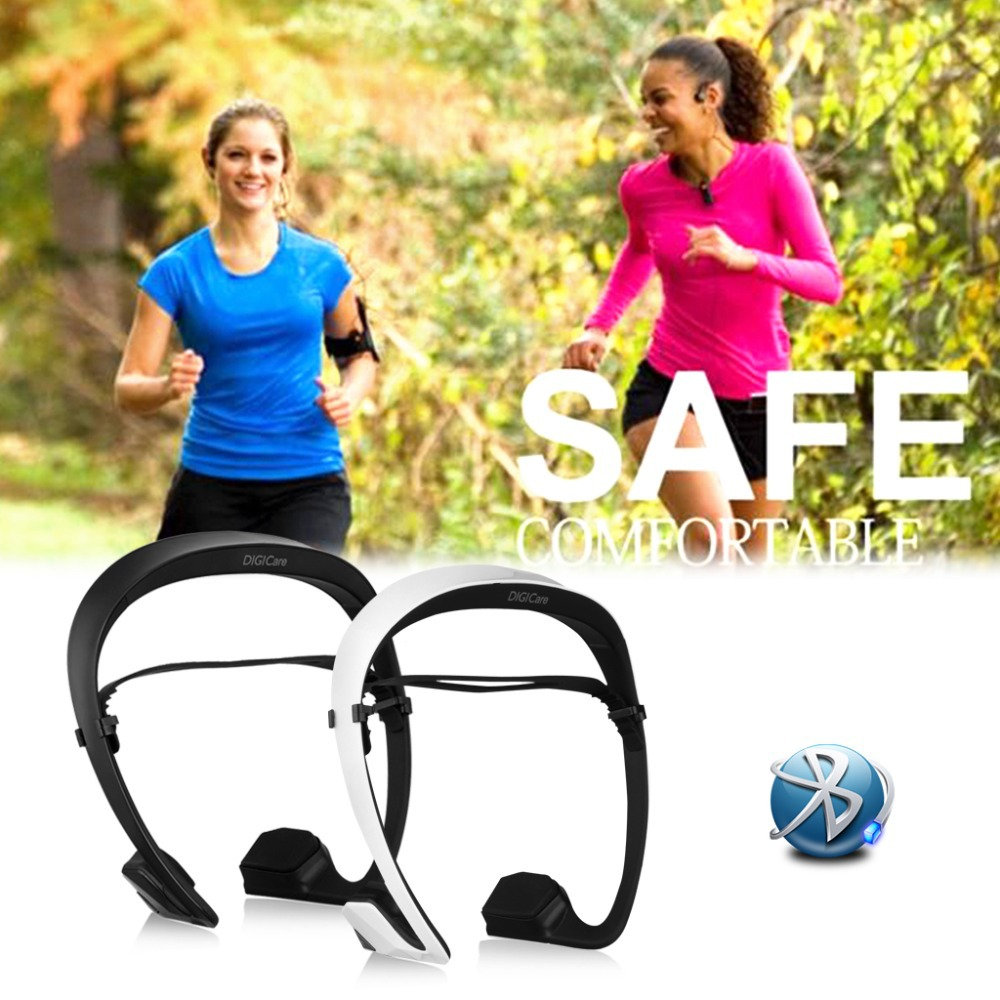 Hot !DIGICare DO Wireless Headphone Bluetooth Headset Stereo Bone Conduction Built-in Microphone Earphones For SmartphoneTablet(China (Mainland))