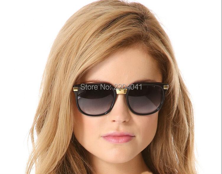Фотография Women Sunglasses Serval Acetate Frame Gradient Lens Eyewear DHL Free Female Sun Glassses Oculos De Sol Feminino