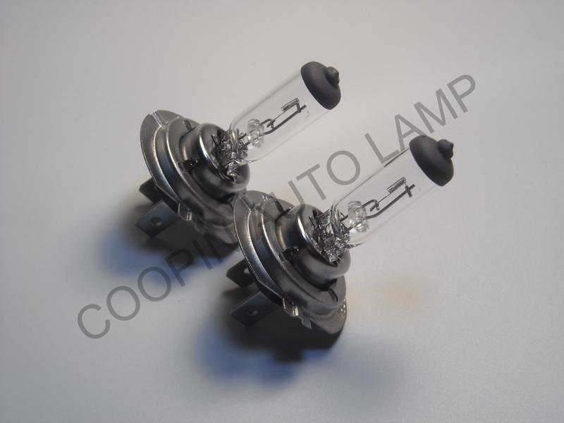 24 шт. H7 12 V 55 Вт PX26D E4 прозрачный автомобиль фары галоген лампа EMARK кварцевый стекло нержавеющая сталь фокусировки OEM CP007