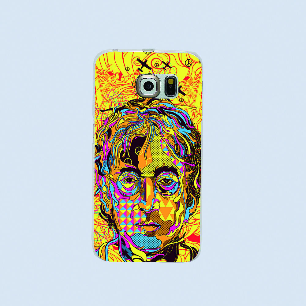 2016 New Classic comic book abstract figure DRIP design phone case For Samsung Galaxy S3 S4 S5 S6 s6edge i9500 Hard shell(China (Mainland))
