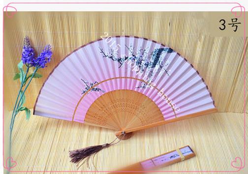 001A 21cm ancient Japanese Girls summer fan upscale Japanese classical and Sakura wind pattern folding fan(China (Mainland))