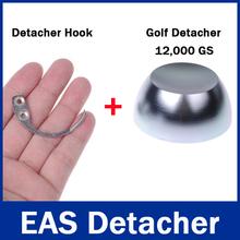 1Pc 12,000gs / 12000GS Golf Detacher 1Pc Detacher Hook Key Tag Remover EAS System The Security Detacher(China (Mainland))