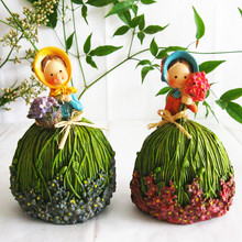 2013 Christmas gift  Flower Fairy Beauty Fairy Girls Toys Car / Home ornaments  Decorations Free Shipping(China (Mainland))