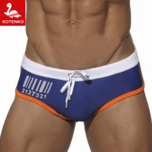 Kotenko Brand Sexy Men Swimsuits Briefs Gay Male Swimming Bikini 2016 Summer New Men's Swimwear Surf Boardshorts Swim Suits Hot