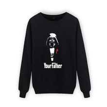 Print Star Wars Spring 2016 Hoodies Men Hoody Sweatshirts 3xl in Street Wear Style Cotton Men Hoodies and Sweatshirts Brand