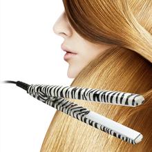 Portable Professional Hair straighteners Irons Zebra Fashion Hairstyling Ceramic Flat Splint Universal(China (Mainland))