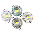 3W COB Resin LED Downlight AC85 265V Round shape LED COB Recessed Ceiling Lamps Warm Cool