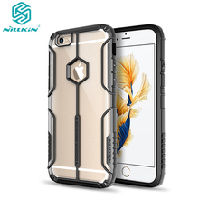 Nillkin Aegis Neo Hybrid Tough Armor Slim Cover Cases For Apple iPhone6 6s plus Phone Bag Back Covers crashproof PC soft TPU