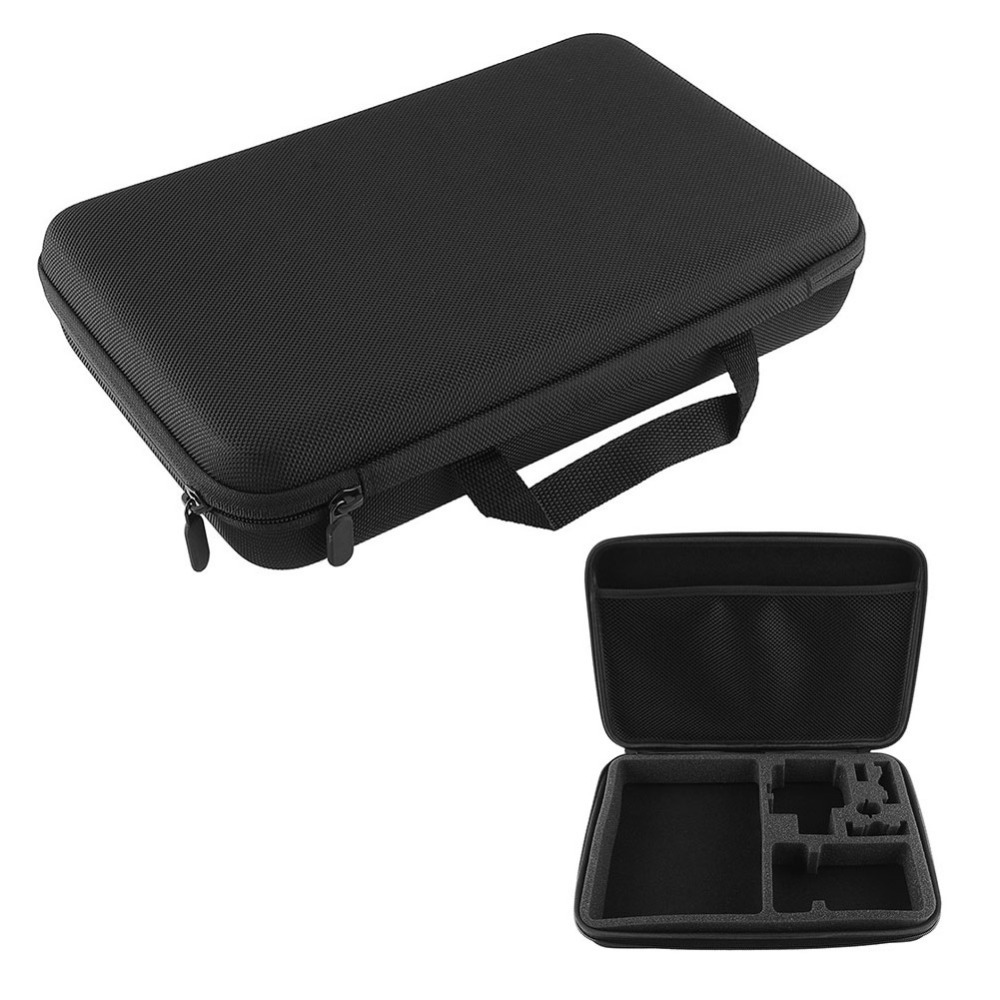 ZJM Large sized Travel Storage Carry hard Box Bag Case Cover with for GoPro 3 3 2 1 Free shipping(China (Mainland))