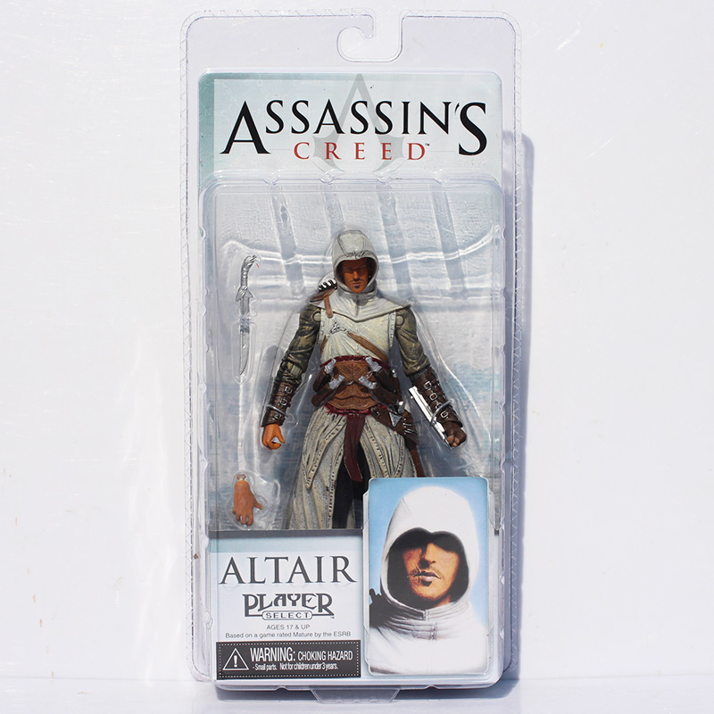 Гаджет  4 Styles Neca Toys Assassins Creed 4 Black Flag PVC Action Figures Toys Edward Kenway Etc Collection Model Free Shipping None Игрушки и Хобби