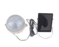 light control solar wall lights 5led emergency lamp small street lamp Free shipping