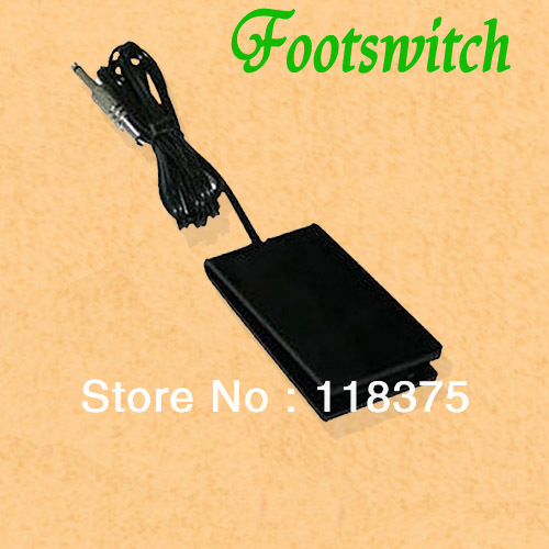 Professional Black Footswitch Foot switch pedal Acrylic tattoo power pmma Foot Pedal Free Shipping 20pcs/lot WS-P113<br><br>Aliexpress