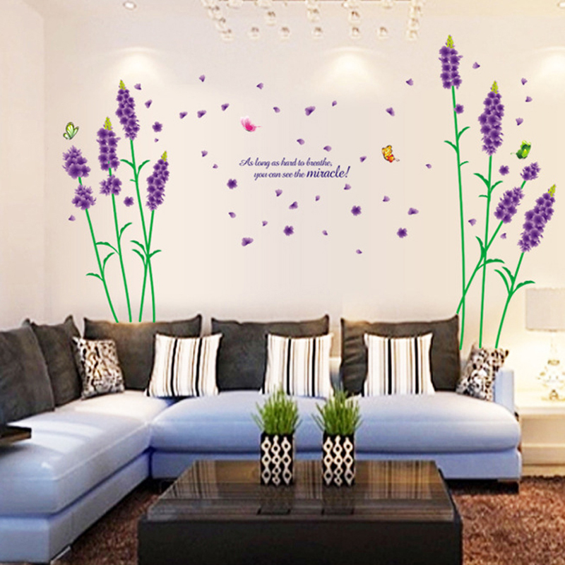 Vinyl Wall Decals Home Decoration French Wall Stickers Bedroom Decor