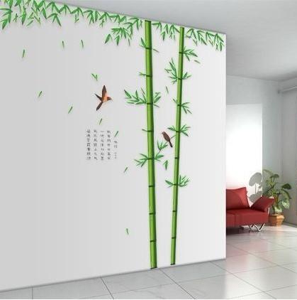 Online kaufen gro handel bambus aufkleber aus china bambus aufkleber gro h ndler - Wandsticker bambus ...