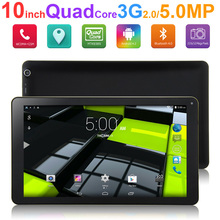 Original Brand NASCO Android Tablet PC 10 Quad Core MTK8382 Android Notebook 5 .0MP Camera Bluetooth