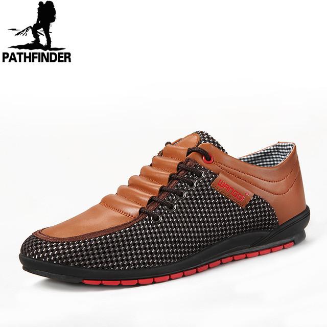 2016 Мужчин Повседневная Обувь Весна Кожа PU является высокотехнологичным и высокосортным ...
