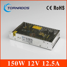 150 W 12 V переменный ток 110 В 220 В в DC 12 V 12.5A 150 W трансформатор напряжения переключатель электропитание питания для из светодиодов полоска и из светодиодов рекламный щит