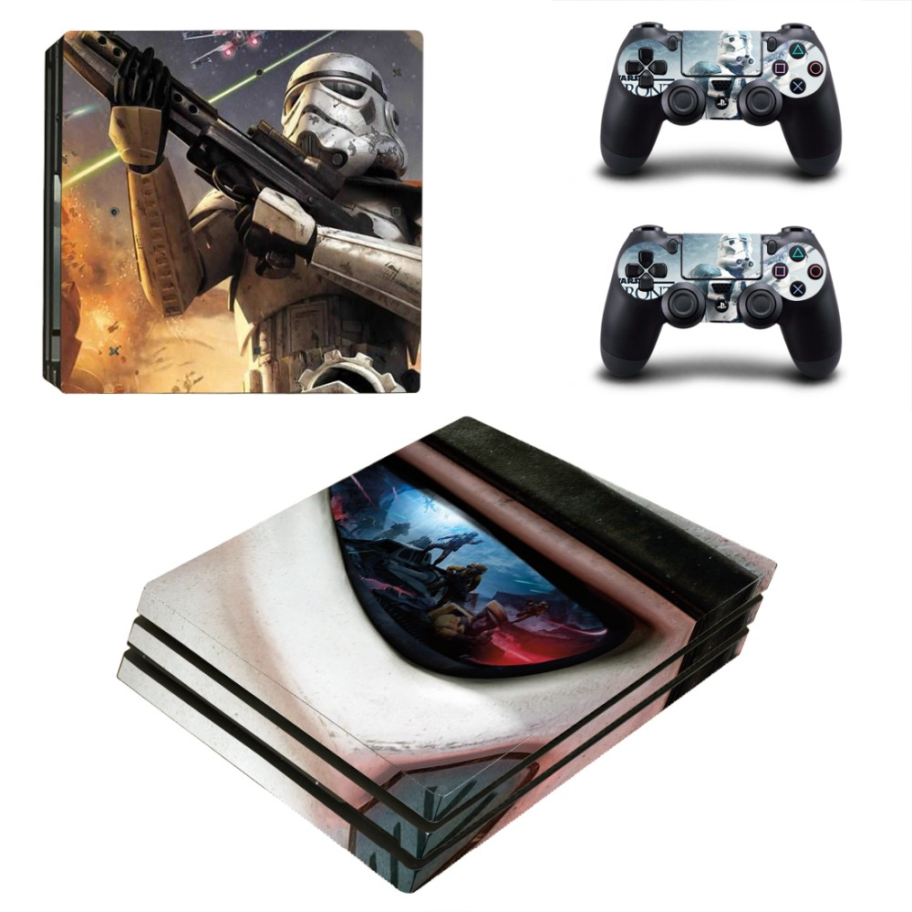 Star Wars Battlefront PS4 Pro Skin Sticker Decal For Sony PS4 Pro Playstation 4 PS 4 Console and Controllers Skin Sticker