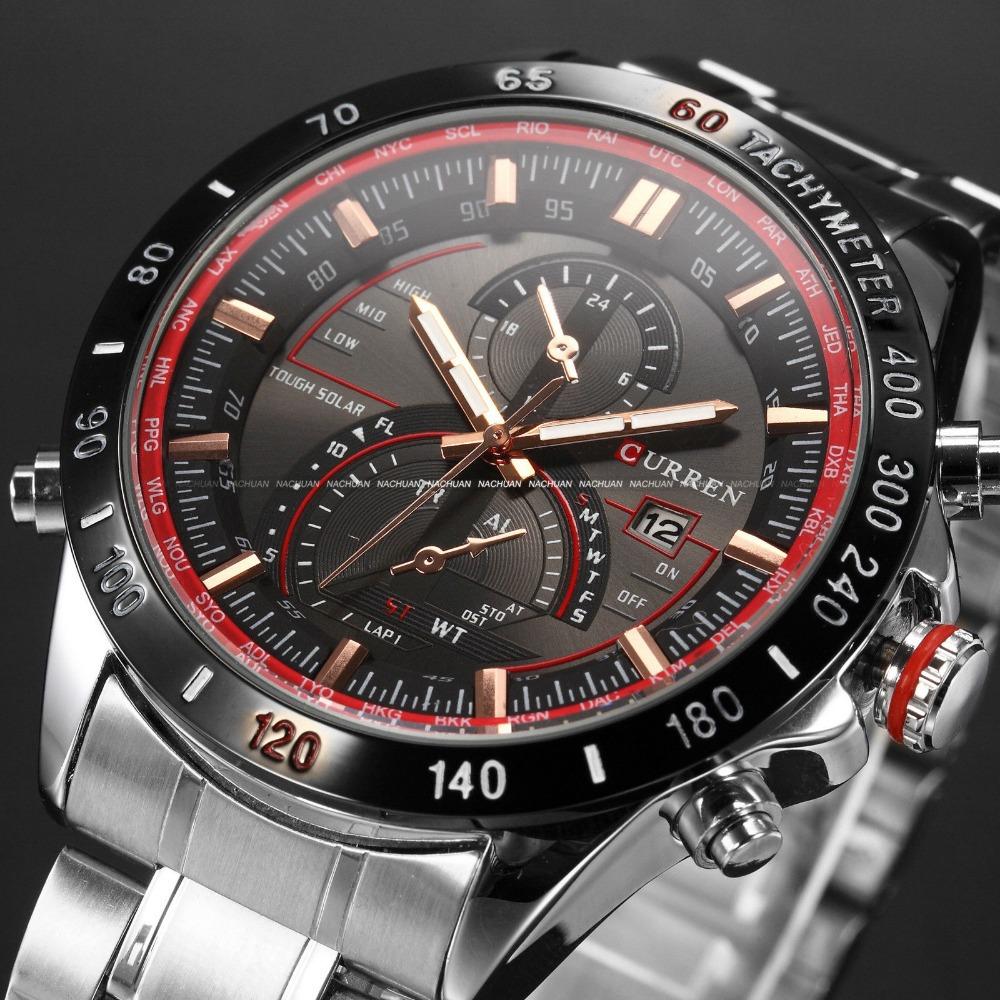 CURREN relogio 8149 часы наручные casio часы g shock ga 400 1a