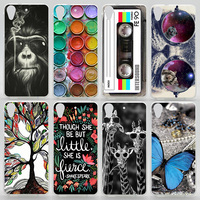 Case For HTC Desire 626 626G 626G+ 626W 626S Colorful Printing Drawing Phone Cover For HTC 626 Plastic Hard Phone Cases