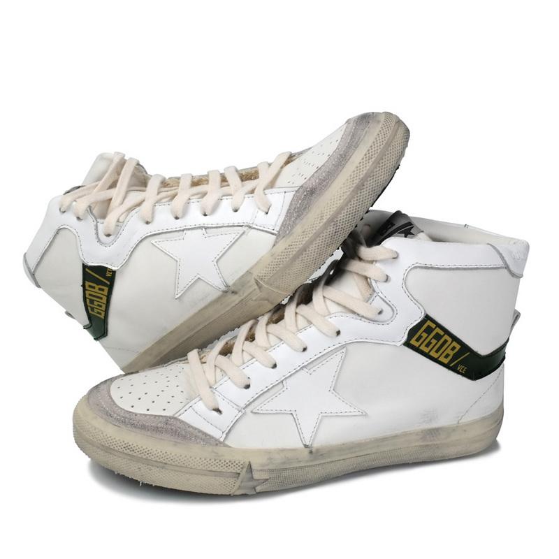 Italy Golden Goose Casual Shoes Brand Superstar Blanche Genuine Leathe High top Men Women GGDB White Shoes Scarpe Ganso De Oro