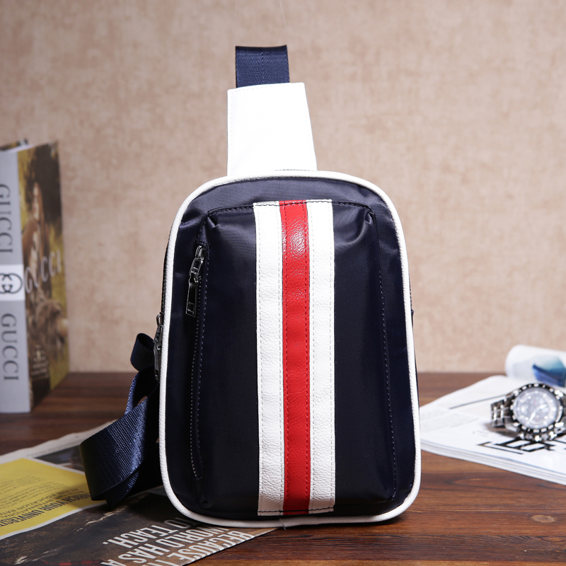 Couples chest package The fashion leisure men's single wholesale street tide female inclined shoulder bag bag manufacturer(China (Mainland))