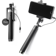 Buy EU STOCK!! Fast Delivery!! Luxury Universal Selfie Stick Monopod Wired Palo Selfies Android IOS Groove Camera Para Selfie for $3.66 in AliExpress store