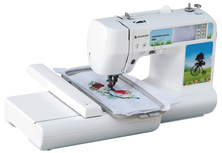 easy to use embroidery machine