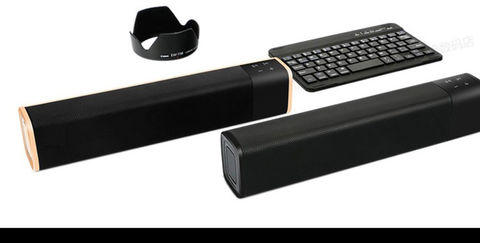 SUPER BASS WIRELESS MINI BLUETOOTH SOUNDBAR SPEAKER, MAXXBASS DSP 3D SOUND MINI SOUND BAR WITH BT/TF/AUX FOR PC/SMART PHONES,