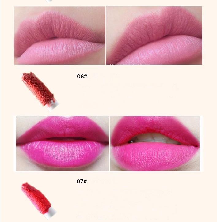 New Lip Gloss Moisturizer Long Lasting Waterproof Matte Lipstick Nude Lip Stick Lipgloss Lip Balm Brand Makeup Sexy For Lip