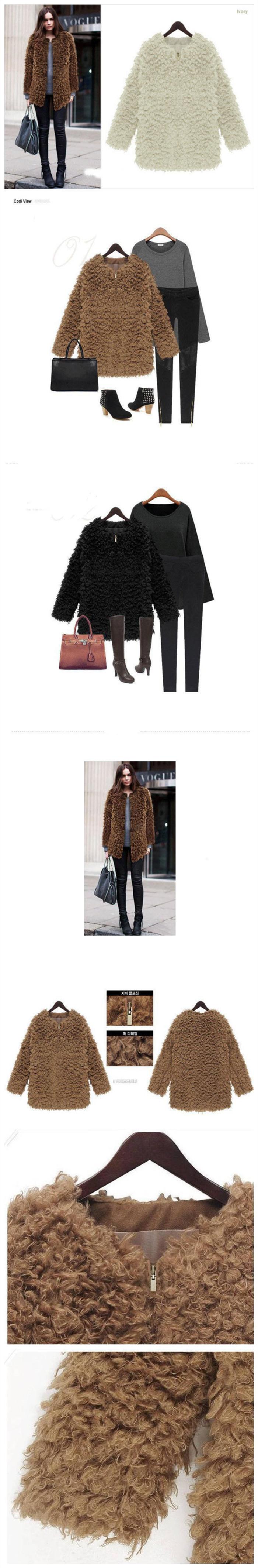 Женская одежда из шерсти - 2015 Styel Fuax YFY405
