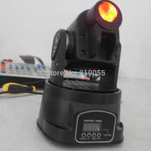Free shipping 15w professional led moving head light 13 channels LED Moving Head spot stage lighting(China (Mainland))
