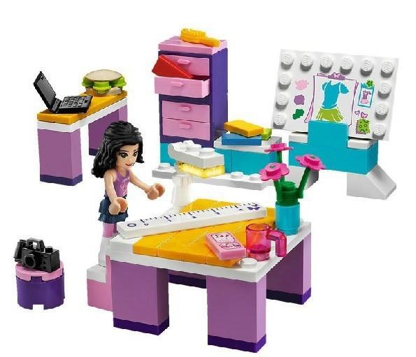 4 pcs/lot Building Blocks sets Bela Friends Girls Minifigures children brick toys Compatible Lego