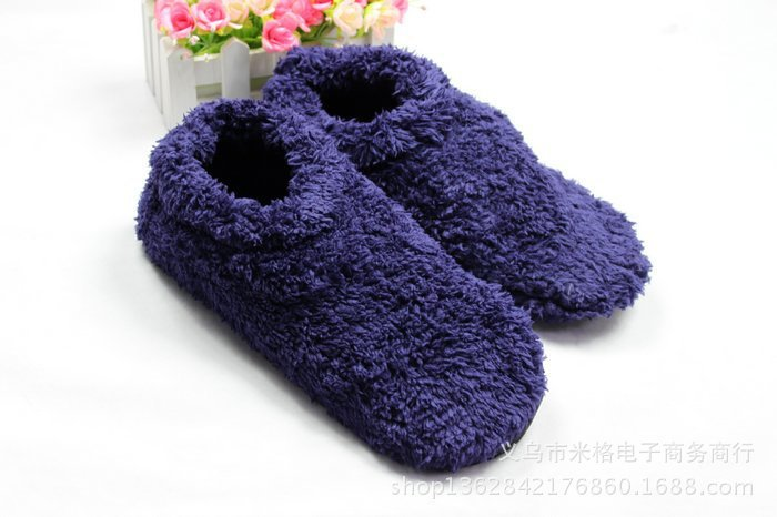 Free shipping 2014 new thick round mouth floor mens slippers suitable for winter and indoor pedestrian<br><br>Aliexpress