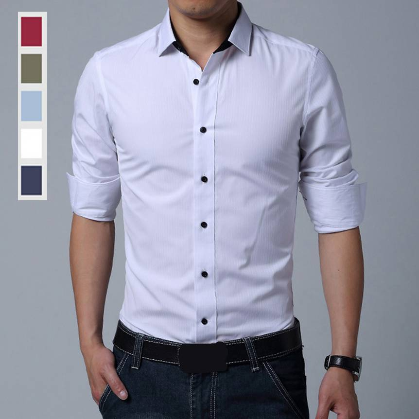 There are shirts in a range of prints and designs like graphic prints, floral prints, polka dots, paisley designs, embellished shirts, embroidered shirts and so much more that you can have a look at while shopping for casual shirts for men online.