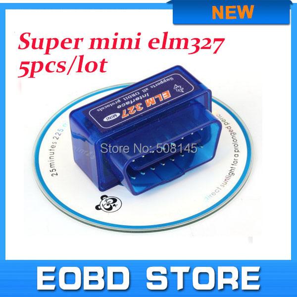 Latest version Super Mini Elm327 Bluetooth V2.1 OBD2 Scanner ELM 327 Bluetooth Smart Car Diagnostic Tool ELM 327 V2.1(China (Mainland))
