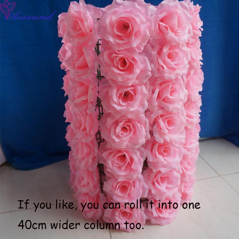 Pink Flower column