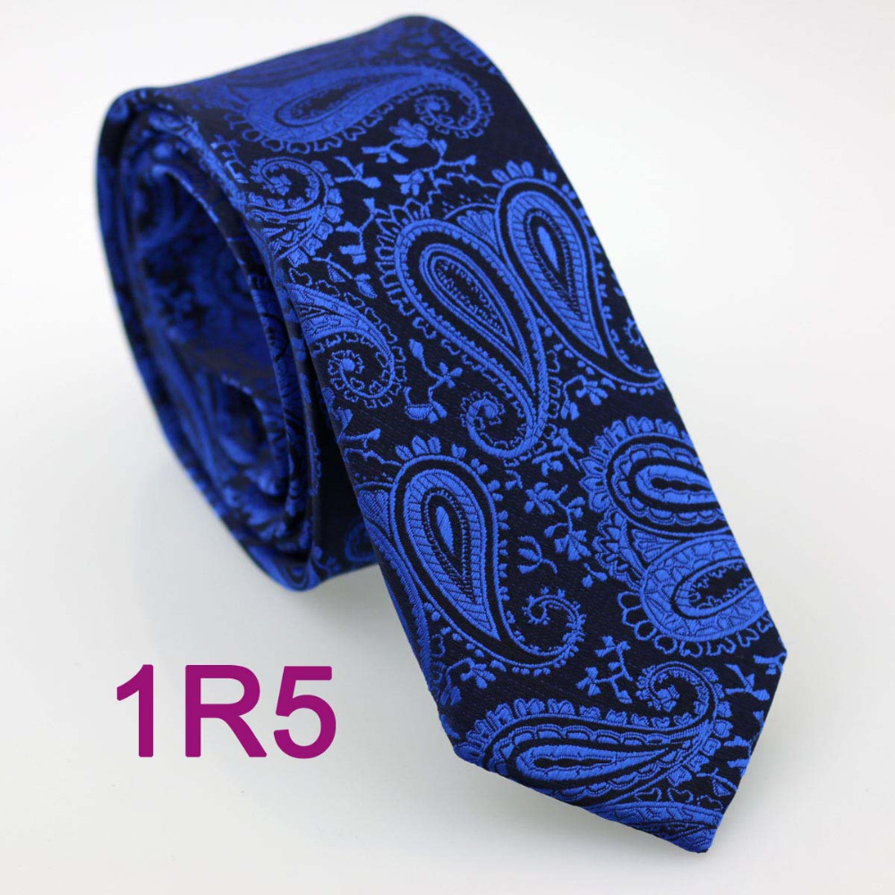 Tie Black With Royal Blue