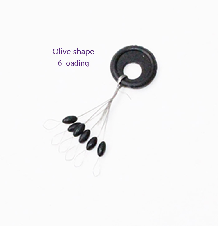 fishing lin cylindrical space beans Space Bean Long strip Round Shape Olive shape 120pcs fishing tackle fishing supplies(China (Mainland))